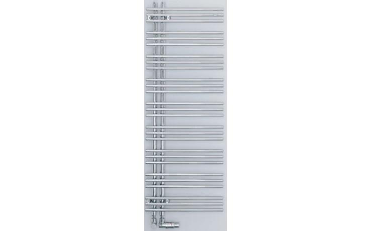 ZEHNDER YUCCA ASYM koupelnový radiátor 578x1736mm, jednořadý, teplovodní, chrom