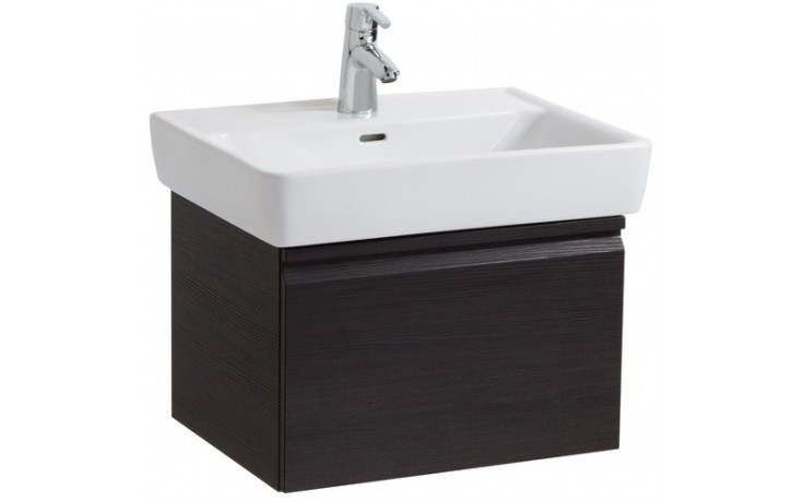 LAUFEN PRO skříňka pod umyvadlo 570x450x390mm s 1 zásuvkou, se sifonem, bílá 4.8304.1.095.463.1
