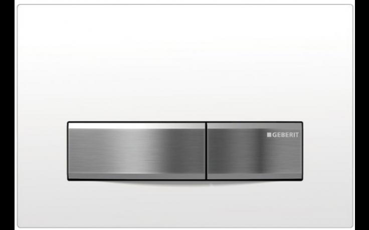 GEBERIT SIGMA 50 ovládací tlačítko 24,6x1,3x16,4cm, alpská bílá