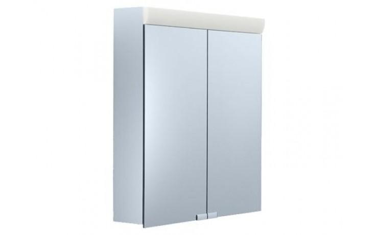 Nábytek zrcadlová skříňka Keuco Royal 10 05402171301 60x70x14,1 cm stř./elox