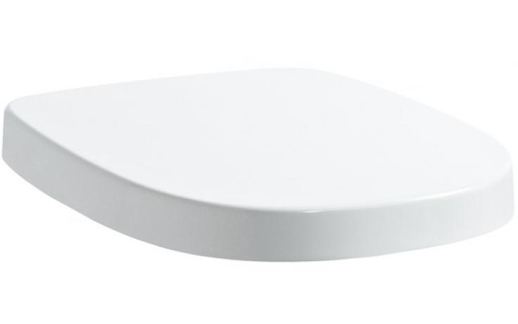 LAUFEN MIMO sedátko s poklopem, odnímatelné, zpomalovací sklápěcí systém, nerezové závěsy, bílá a černá 8.9255.1.317.000.1