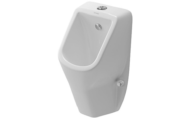 DURAVIT D-CODE urinal 305x290mm bez mušky, bílá 0828300000