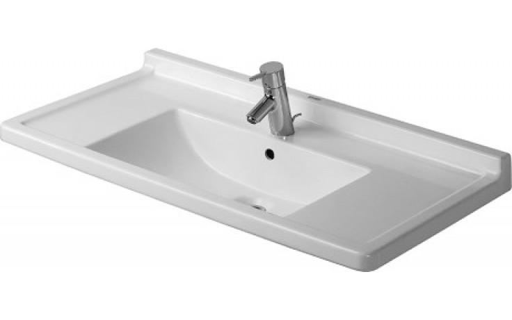 Umyvadlo nábytkové Duravit - Starck 3 85x48,5 cm bílá