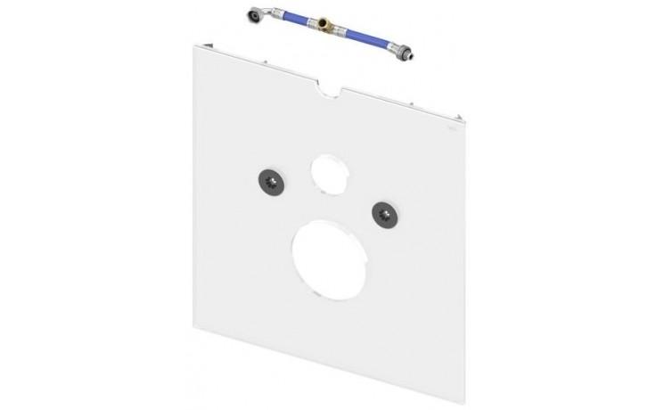 TECE LUX skleněná deska 430x16x446mm dolní, pro toalety se sprchovacím sedátkem, sklo/bílá