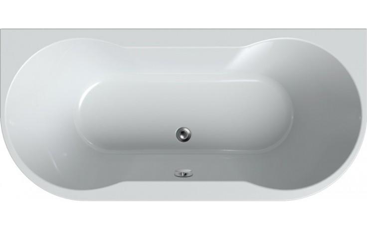 TEIKO AXIA vana 170x80x46cm, obdélník, akrylát, bílá