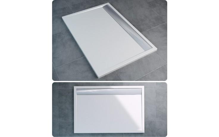 Vanička drcený mramor Ronal obdélník ILA WIA 90 150 04 04 900x1500 bílá/bílá