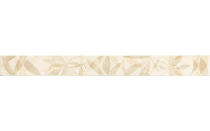 Listela Rako Lazio 3,2x33 cm béžová