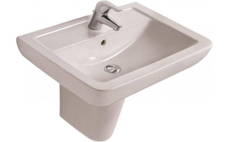 Umyvadlo klasické Ideal Standard s otvorem Eurovit Plus 60x46 cm bílá