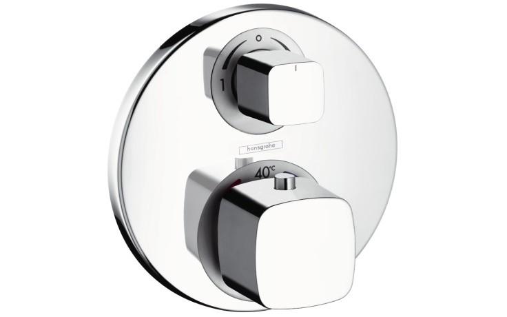 HANSGROHE METRIS ECOSTAT E termostat pod omítku s uzavíracím a přepínacím ventilem chrom 31573000