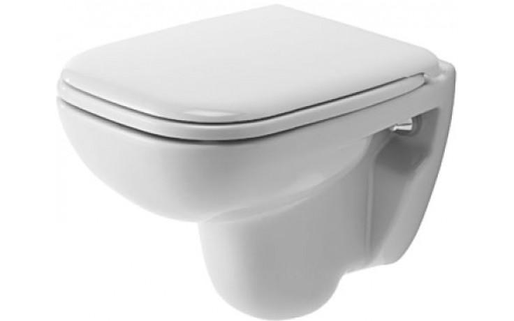 DURAVIT D-CODE závěsný klozet Compact 350x480mm hluboké splachování bílá 22110900002