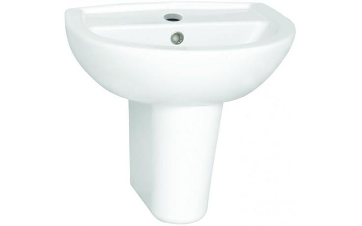 Umývátko klasické - s otvorem Concept 100 kulaté 50 cm bílá alpin
