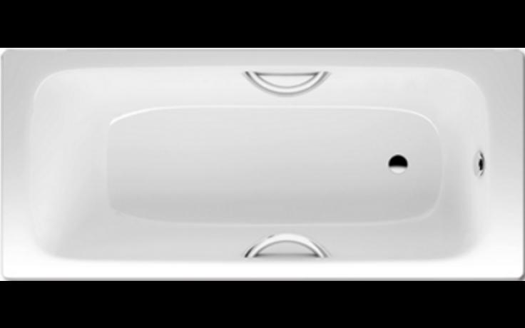 KALDEWEI CAYONO STAR 756 vana 1700x750x410mm, ocelová, obdélníková, bílá Perl Effekt 275600013001