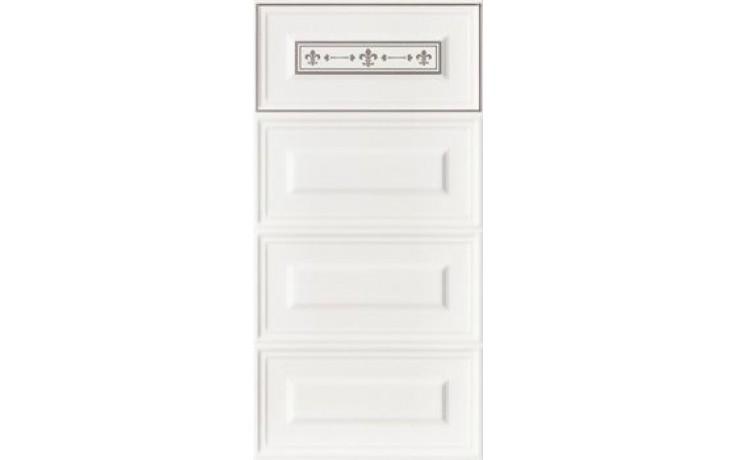 IMOLA ANTHEA dekor 30x60cm white, GIGLIO2 W1
