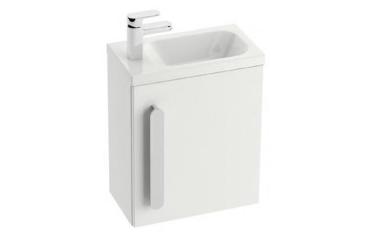 Nábytek skříňka pod umývátko Ravak Chrome dvířka R 37,5x2,5x53 cm bílá