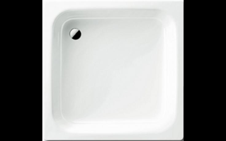 KALDEWEI SANIDUSCH 395 sprchová vanička 800x800x140mm, ocelová, čtvercová, bílá Antislip