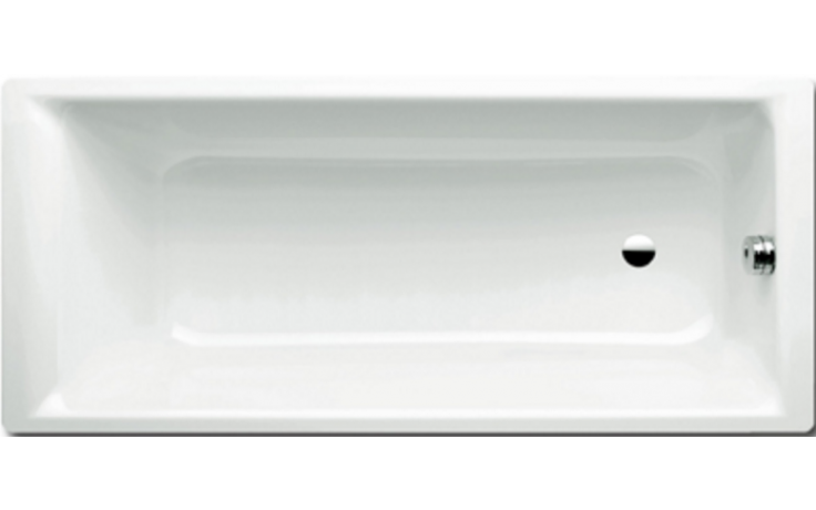 KALDEWEI PURO 687 vana 1700x700x420mm, ocelová, obdélníková, bílá Perl Effekt, Antislip 258730003001