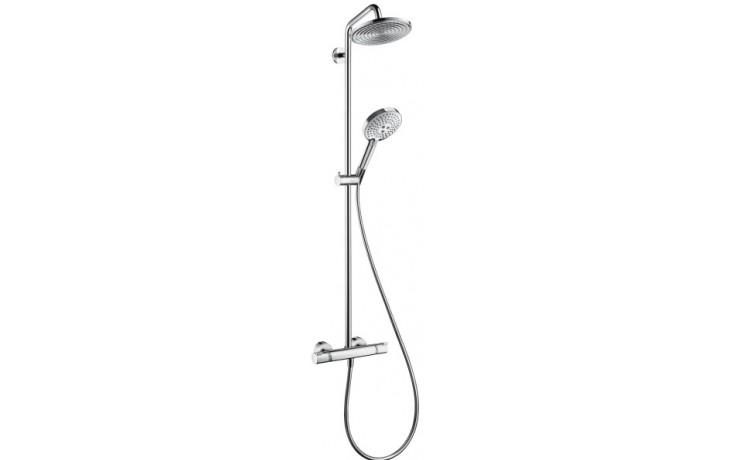 Baterie sprchová Hansgrohe nástěnná termostatická Raindance Select Showerpipe vč. sprchového setu d=240mm, l=1038mm chrom