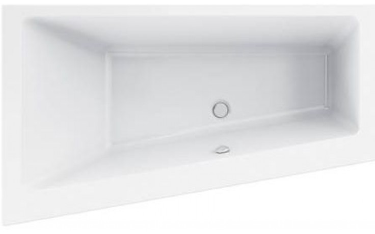 Vana plastová Ideal Standard klasická Strada K261101 asymetrická, levá 1700x1000x470mm bílá
