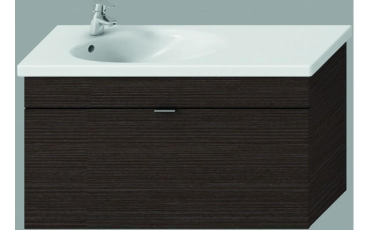 JIKA TIGO skříňka s umyvadlem 970x370x520mm s 1 zásuvkou, mokka 4.5518.7.021.429.1