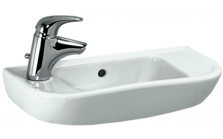 Umývátko klasické Laufen s otvorem Pro B otv.vpravo 50 cm bílá-LCC