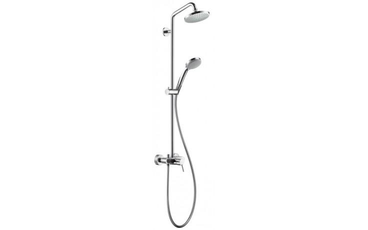HANSGROHE SHOWERPIPE horní sprcha Croma 100 1jet s pákovou baterií chrom 27154000