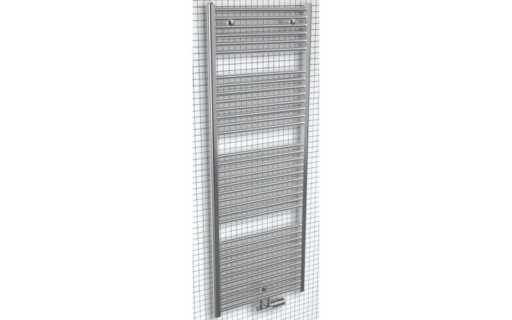 CONCEPT 200 Tube Extra radiátor koupelnový 344W designový, středové připojení, satén CTE11750450SM82-5002