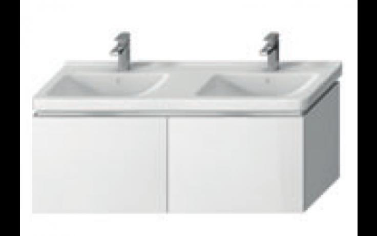 JIKA CUBITO-N skříňka pod dvojumyvadlo 1280x467x480mm, bílý lesklý lak