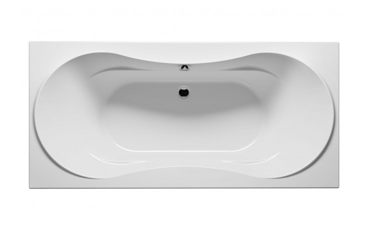 Vana plastová Riho(JVP) klasická Supreme 180 BA5500500000000 180x80cm bílá