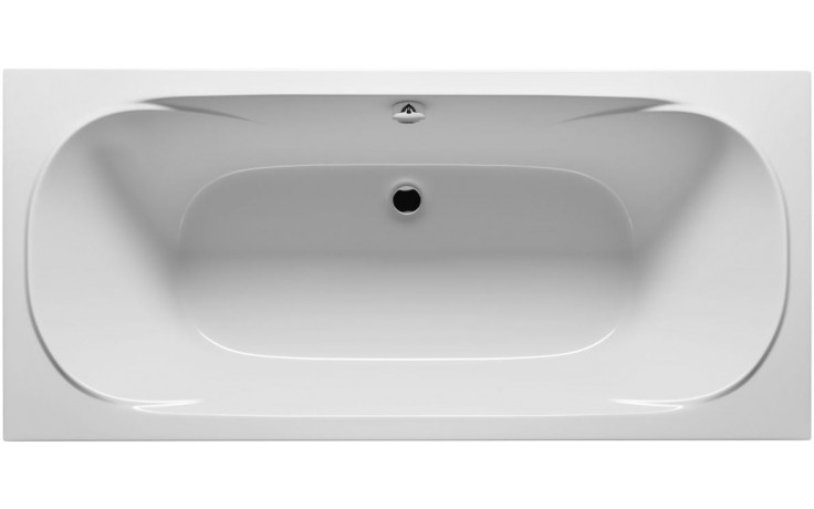 RIHO TAURUS BC07 vana 170x80x49,5cm, obdélníková, akrylátová, bílá