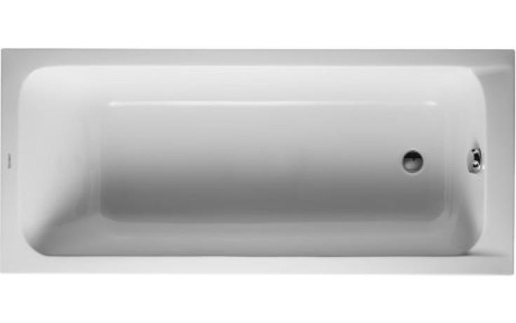 DURAVIT D-CODE vana obdélník 1700x750mm bílá 700010000000000
