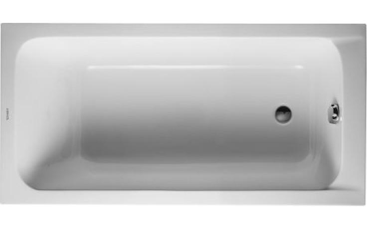 DURAVIT D-CODE vana obdélník 1500x750mm bílá