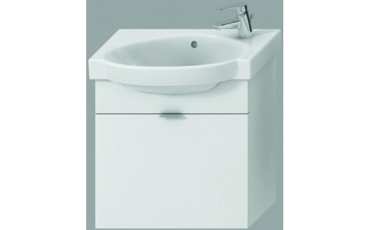 JIKA TIGO skříňka s umyvadlem 520x270x520mm s 1 zásuvkou, bílá 4.5512.7.021.500.1