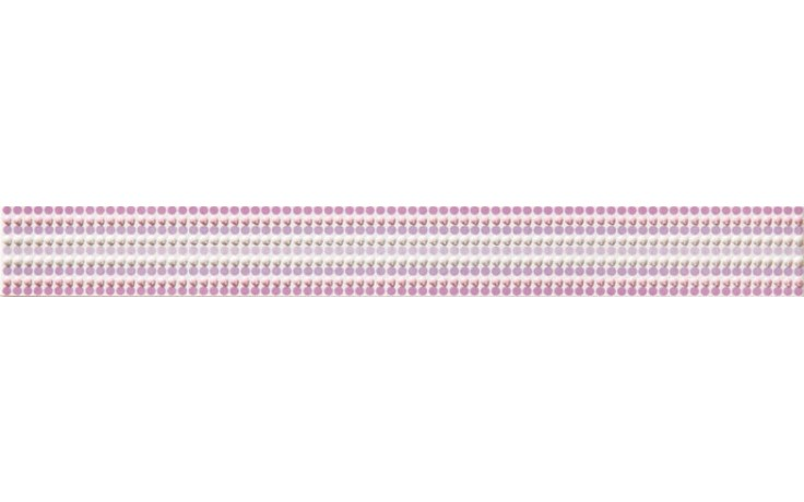 RAKO VANITY listela 40x4,5cm fialová WLAMH015