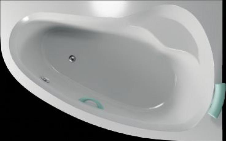 Vana plastová Teiko tvarovaná Dorado 160 P 160x95x44cm bílá