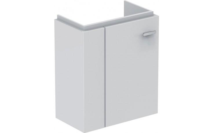 Nábytek skříňka pod umývátko Ideal Standard Connect Space pro úmývátko s odkl.plochou vlevo 43,6x24,3x52 cm lesklý lak bílý