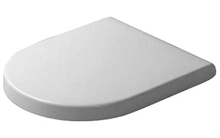 DURAVIT STARCK 3 WC sedátko Vital bez sklápěcí automatiky, bílá 0062410000