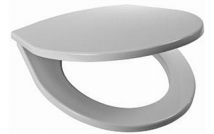 JIKA LYRA PLUS klozetové sedátko s poklopem, termoplastové, s plastovými úchyty, bílá