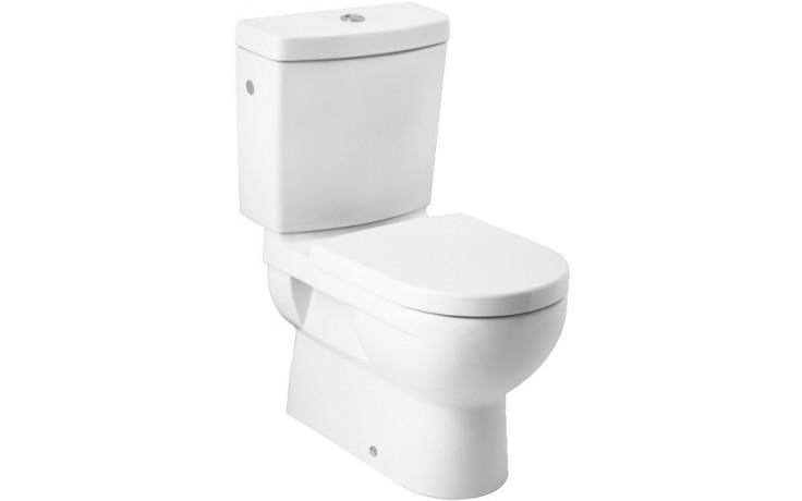 JIKA MIO nádržka WC 390x175mm s armaturou Dual Flush, bílá Jika perla