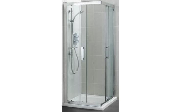 IDEAL STANDARD SYNERGY sprchový kout 90x90cm čtvercový, silver bright/sklo L6374EO