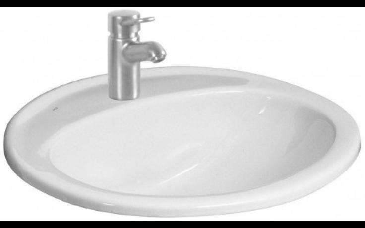 JIKA IBON zápustné umyvadlo 560x475mm s otvorem, bílá