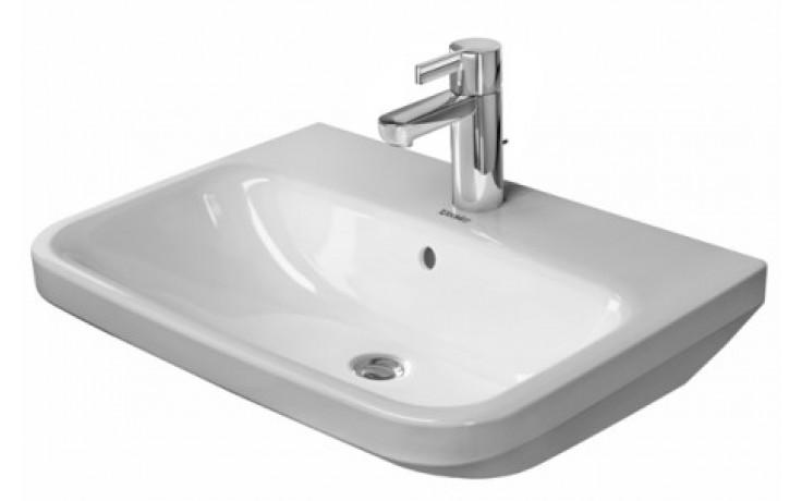 Umyvadlo klasické Duravit s otvorem Dura Style 2319600000 600x440 mm bílá