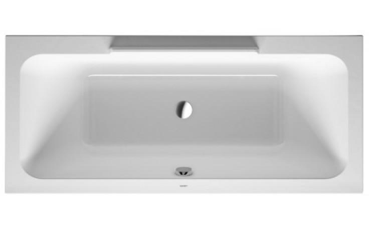 Vana plastová Duravit - DuraStyle 180x80x46 cm bílá