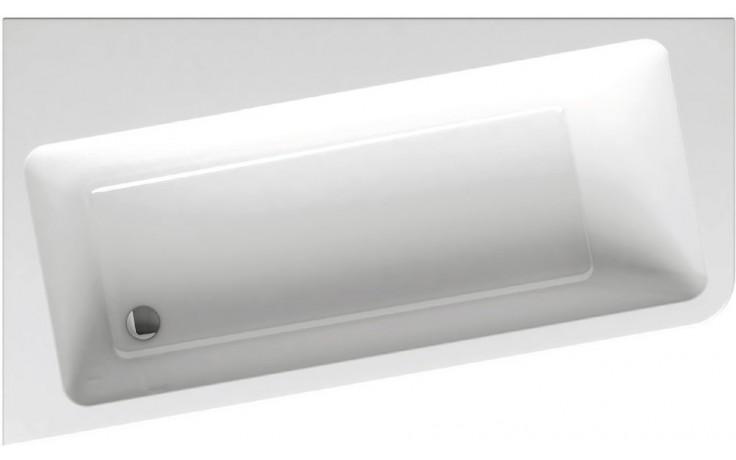 RAVAK 10 160 L asymetrická vana 1600x950mm akrylátová, levá, snowwhite C831000000