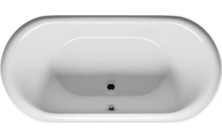 RIHO SETH BB22 vana 180x86x47cm, asymetrická, akrylátová, bílá