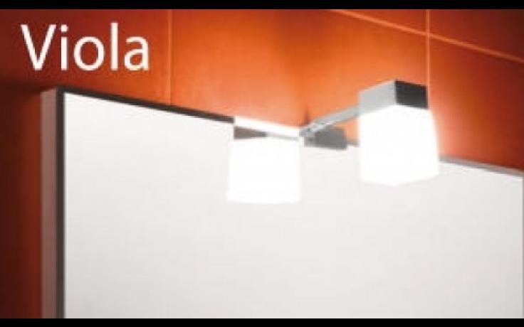 JIKA VIOLA osvětlení pro zrcadla 1309060mm, 4.9423.1.173.000.1