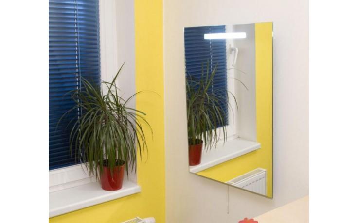 Nábytek zrcadlo Amirro Luna s osvětlením na řetízkový spínač 70x50 cm