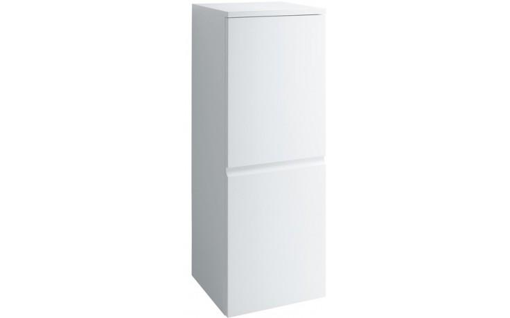 LAUFEN PRO střední skříňka 350x335mm 2 poličky, závěsy vpravo, bílá lesk
