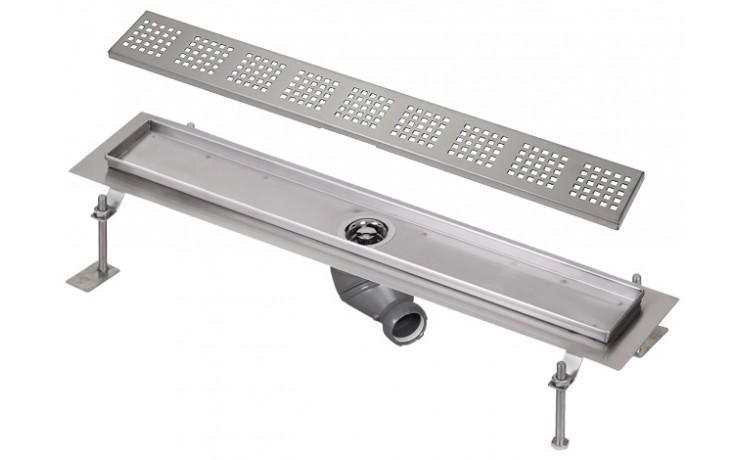 SANELA SLKN04FX koupelnový žlábek 950mm do prostoru, nerez, mat