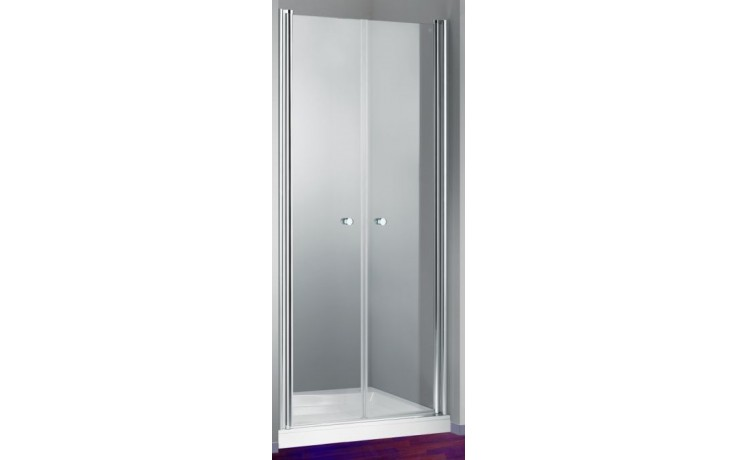 Zástěna sprchová dveře Huppe sklo Design elegance 1000x1900mm stříbrná matná/Intima AP