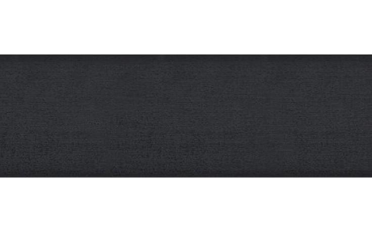 Obklad Rako Tendence 20x60 cm černá